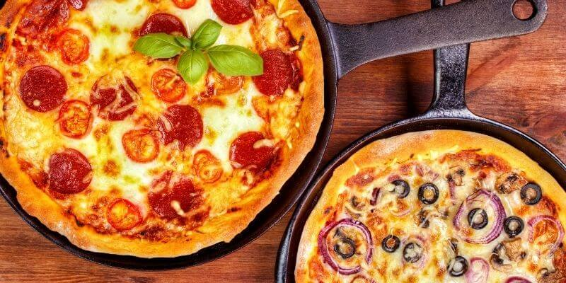 Two Pan Pizza